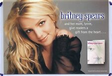 "BRITNEY SPEARS ADVERTISING POSTCARD ""A MOTHERS GIFT"" 2001"