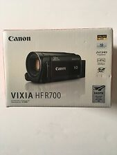 Canon Vixia HF R700 Full 1080 HD Camcorder - Black - Free Shipping!