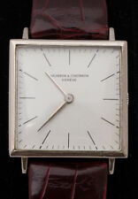 Vacheron Constantin 18k Tank Manual Wristwatch 60s White Dial 407086/6559-577511