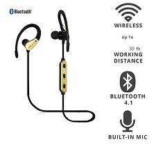 Bluetooth Earbuds Wireless V4.1 Headset Headphone for iPhone Samsung Note 3 4 5