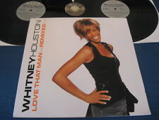 2 LP WHITNEY HOUSTON Love that man Remixes 2003 USA
