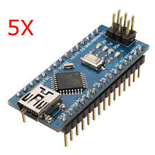 5Pcs ATmega328P Arduino Compatible Nano V3 Improved Version No Cable