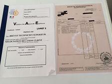 LIVRET2 VAE BTS NRC RELATION NÉGOCIATION CLIENT- COMPLET VALIDÉ+LIVRET VIERGE