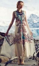 ANTHROPOLOGIE NWT SZ 0 $298 EMBROIDERED GLACIA GOWN BY GEISHA DESIGNS FAB LAST 1