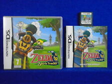 ds ZELDA SPIRIT TRACKS The Legend Of Zelda Lite DSi 3DS PAL UK REGION FREE
