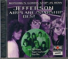 Jefferson Airplane/ Jefferson S Nothing's Gonna Stop Us Now (Best) Zounds CD OOP