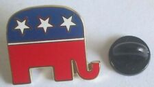 New ! republican elephant pin political party metal 2016 election 22