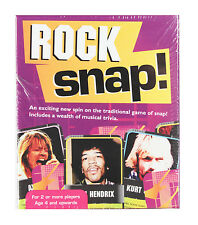 Rock Snap! Card Game (New & Sealed)
