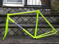 Vintage Benotto track/pista frame and fork.size 50x52 Campagnolo dropouts