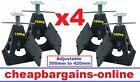 4 x CARAVAN STABILISER STANDS CAMPER TRAILER SUPPORT LEGS JACKS CAR TRAILER LEGS
