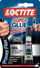12 x LOCTITE Super Glue Power Flex Gel  Flexible Adhesive 3g TUBE