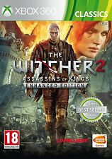 Il Witcher 2 assassini di Kings-Enhanced Edition per PAL XBOX 360 (NUOVO)