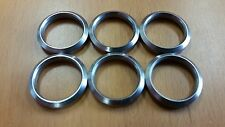 """7.62 x 51 .308  Barrel  Stainless Steel Crush Washer 5/8"""" 24 TPI 6 Pack made USA"""