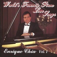 CHIA,ENRIQUE-WORLD`S FAVORITE PIANO LOVE SONGS 1  CD NEW