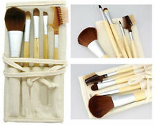 EcoTools Bamboo Makeup Brush Set 6pcs Blush Eye shadow Make Up Brushes 5 +1 Bag