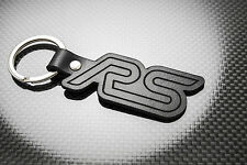 FOCUS RS Luxury Leather Keyring Schlüsselring Porte-clés Ford Motorsport Mk2 FRS