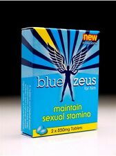 Blue Zeus Herbal Male Erectile Performance Enhancer