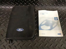 2003 FORD KA OWNERS MANUAL/HANDBOOK WITH COVER