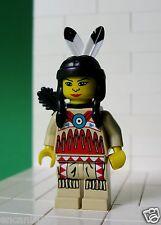 Lego Figur Western - Indianer - Indianerin für Set 6748, 6766 - No: ww018