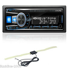ALPINE UTE-93DAB SINGLE DIN BLUETOOTH DAB DIGITAL RADIO USB AUX & DAB AERIAL