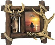 Deer Frame,Antler,Primitive,Northwoods,Cabin Lodge,5x7, Wildlife Creations 4214