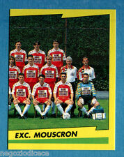 FOOTBALL 98 BELGIO Panini -Figurina-Sticker n. 274 - EXC MOUSCRON DX -New