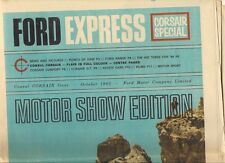 Ford Express Corsair Special October 1963 UK Market Brochure Capri Cortina