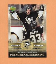 Sidney Crosby Rookie Upper deck 2006 Phenomenal Beginings Card #4