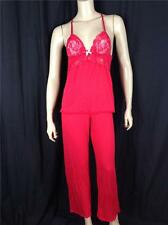 FAMOUS CATALOG NEW MODAL TANK 2PC PAJAMA SET PJ CHERRY POP SZ XS