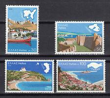GREECE 1976 GREEK ISLANDS ships-ports MNH