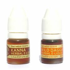 4 ml Kanna Sceletium and Wild Dagga SET040 Herbal tincture extract, VG and PG