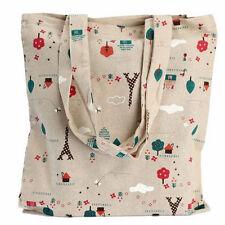 Reusable Shopping Bag Eco Friendly Grocery Shopper Tote  Beach Shoulder Handbag