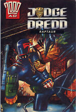 """2000AD ft JUDGE DREDD presents """" RAPTAUR """" - GRAPHIC NOVEL - EXCELLENT CONDITION"""