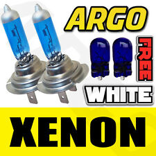VAUXHALL SUPER WHITE H7 100W 501 XENON HID HEADLIGHT LAMPS BULBS KIT LOW / SIDE