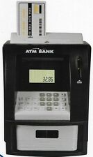 Digital ATM Money Savings Bank with Cash Card, UK Coin Counter Money Box Gift