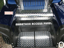 ezgo Marathon Golf Cart Diamond Plate custom made Access Panel Cover