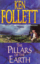 The Pillars of the Earth, By Ken Follett,in Used but Acceptable condition