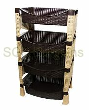 BNIB HQ 4 Tier Decorative Vegetable Fruit Rack Storage Stand Trolley  DC SHELF