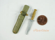1:6 Scale Action Figure GI Joe USMC Marine Soldier Military Knife Set