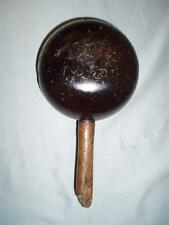 ANTIQUE SADDLERS HARNESS MAKERS COLLAR MALLET. (Lignum vitae)