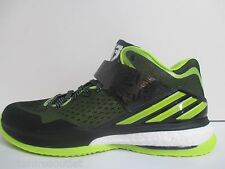 NEW - adidas RG3 Energy Boost Black Lime Men's Training Shoes - Sz 10.5