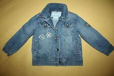 DOPODOPO BOY Jeans sommer übergang Jacke  Gr.110 blau mit Stickerei