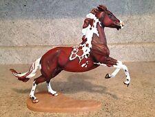 """Custom Painted Breyer Traditional Horse """" Wyatt """" Pinto OOAK"""