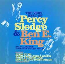 PERCY SLEDGE & BEN E. KING - THE VERY BEST OF - 2 CDS - NEW!!