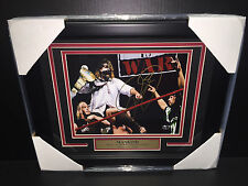 WWE WWF MICK FOLEY MANKIND AUTOGRAPHED FRAMED 8X10 PHOTO LEGEND