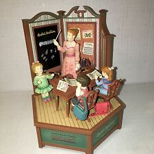 ENESCO MEMBERS ONLY~Classroom Music Lesson Teacher ABC's Do-Re-Mi Music Box RARE
