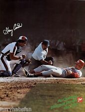 "GARY CARTER MONTREAL EXPOS 7up PROMOTIONAL POSTER 25"" x 19"" in. (63 x 48 cm)"