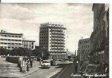 160054 CAGLIARI CITTÀ - AUTOMOBILI d'EPOCA Cartolina FOTOGRAFICA