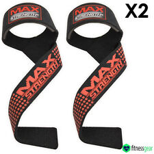 Weightlifting Bar Straps Padded Hand Wrist Bodybuilding Bandages Gym Training