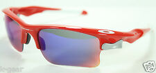 OAKLEY Fast Jacket XL Sunglasses Infrared/Red Iridium/VR28 Interchange OO9156-16